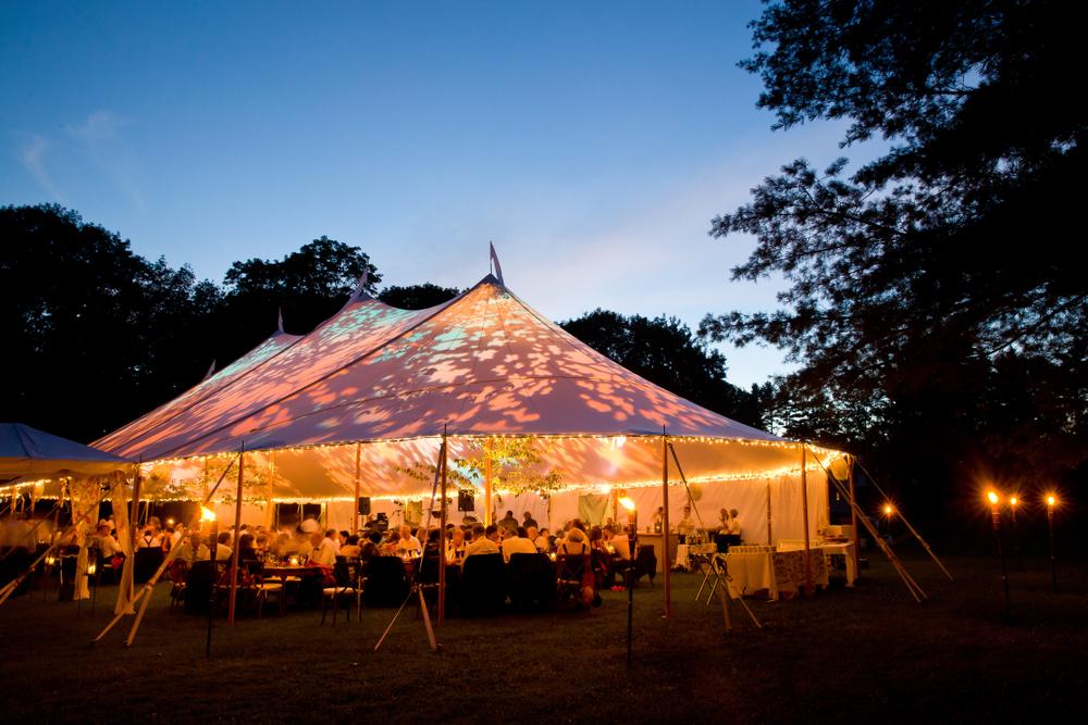 Gartenhochzeit Zelt