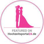 Hochzeitsportal24 Badge